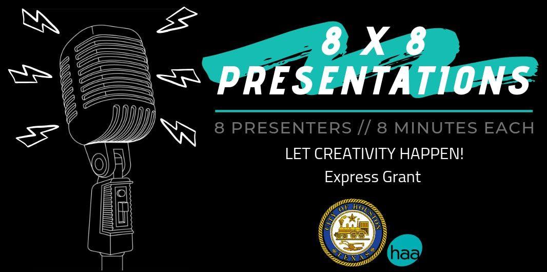 Let Creativity Happen 8 x 8 Presentation