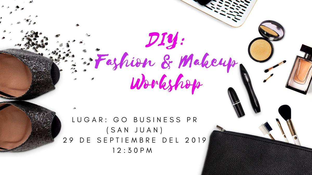 DIY Fashion & Makeup Workshop  Photo shooting