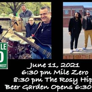 MILE ZERO & THE ROSY HIPS  LIVE IN CONCERT
