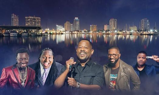 Lit Af Tour: Martin Lawrence, Rickey Smiley, Deray Davis & Michael Blackson, 16 October | Event in Pensacola