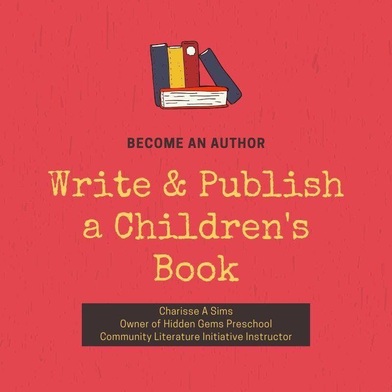 Childrens Book Publishing Class