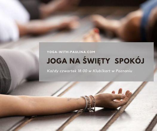 Joga na święty spokój - KlubikArt Poznań   Event in Poznan   AllEvents.in