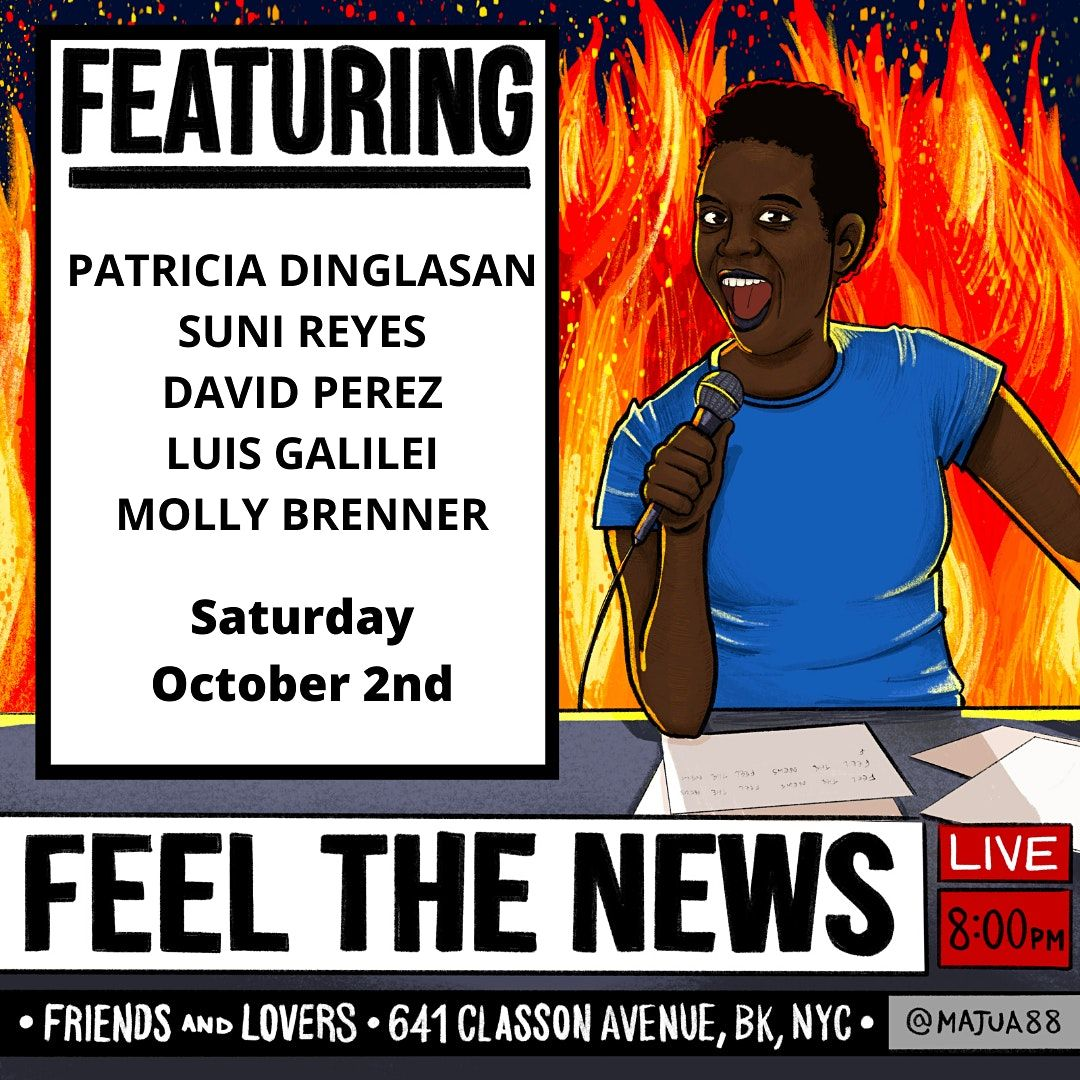 Feel the News w Marcela Onyango, 2 October   Event in Brooklyn   AllEvents.in