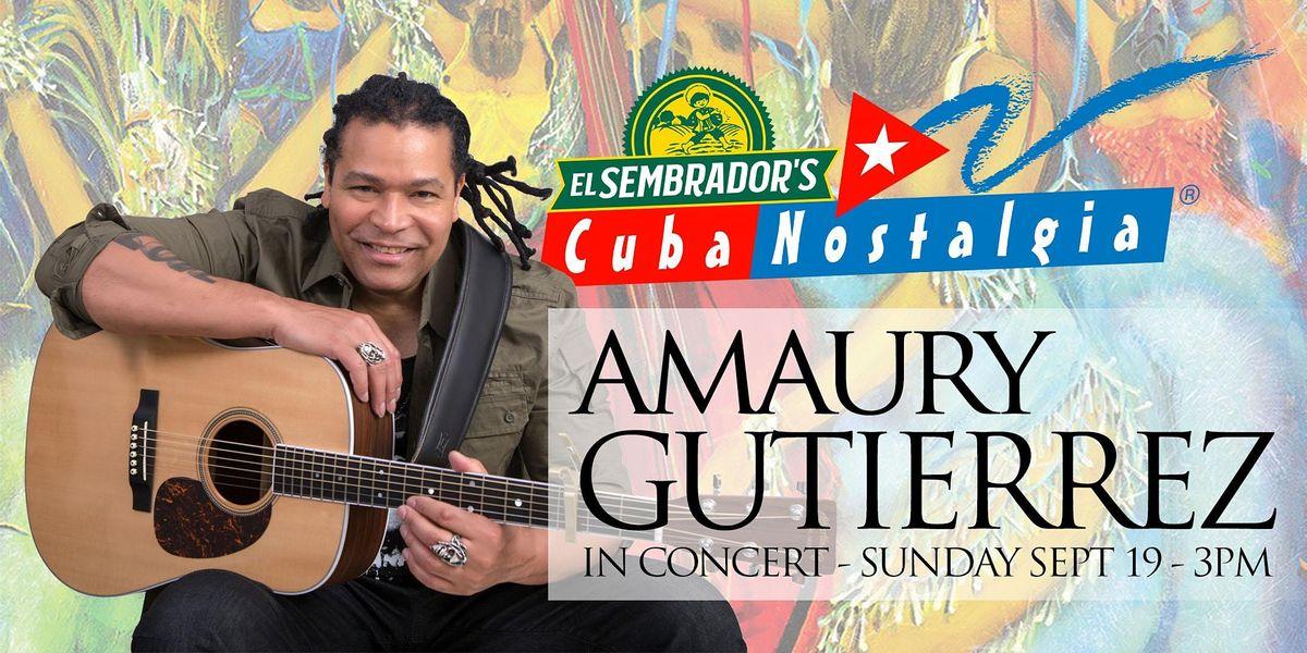 Cuba Nostalgia - Amaury Gutierrez en Tropicana, 19 September | Event in Miami | AllEvents.in