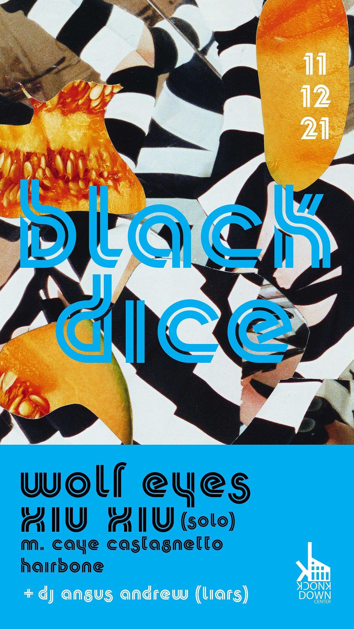 Black Dice / Wolf Eyes / Xiu Xiu (solo) / Liars (DJ), 12 November | Event in Queens | AllEvents.in