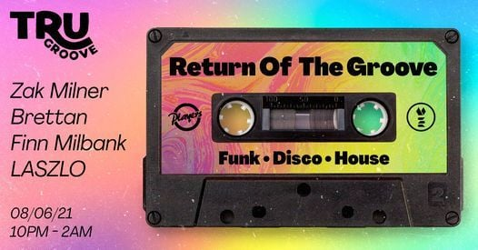 Tru Groove - Return of the Groove, 8 June | Event in Durham | AllEvents.in