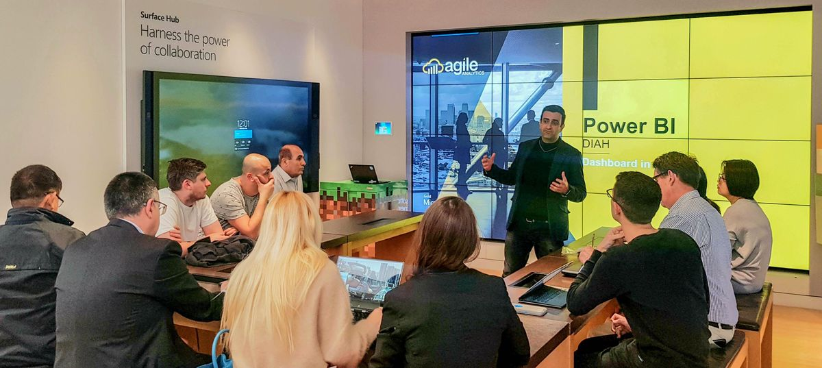 Power BI Dashboard In An Hour (DIAH)  Microsoft Store Sydney CBD - December 2019