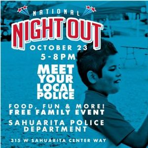 National Night Out - Meet Your Local Police