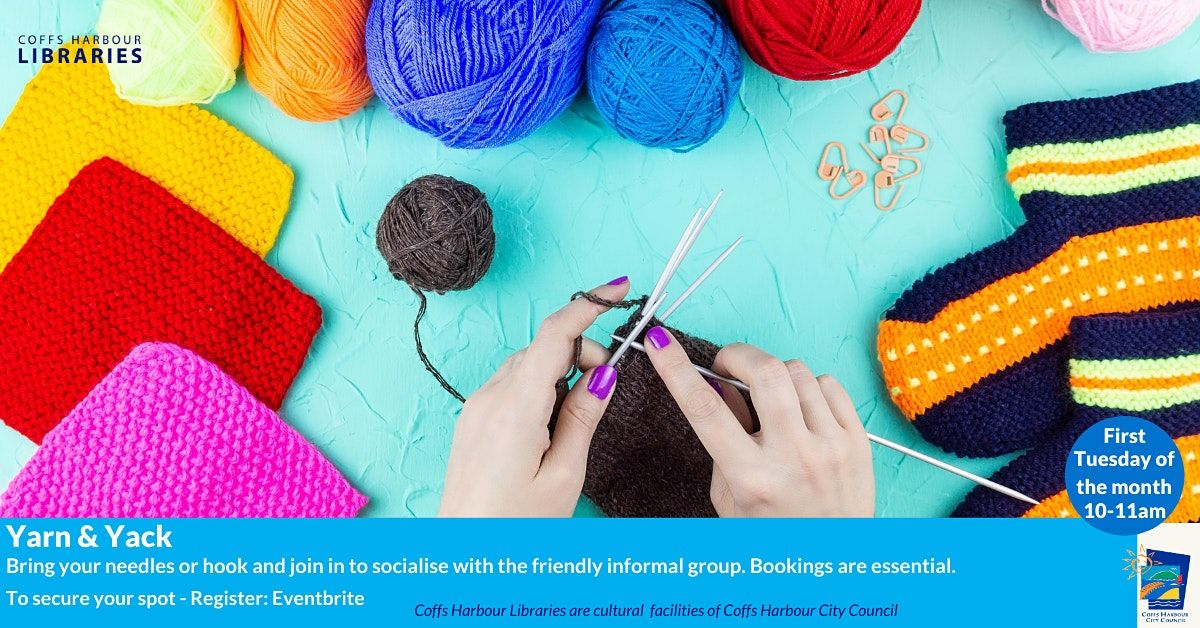 Yarn & Yack | Event in Coffs Harbour | AllEvents.in