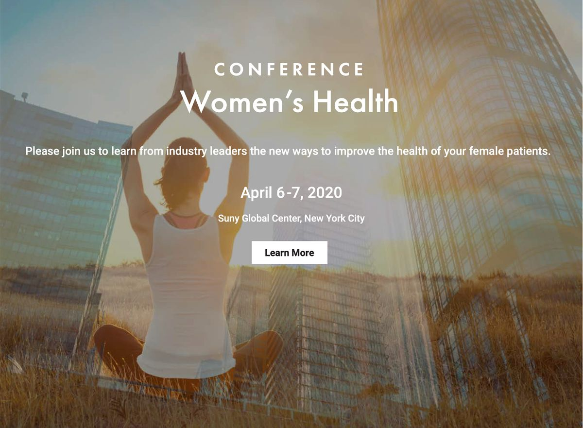 Master Clinicians Womens Health Conference - NYC Spring 2020