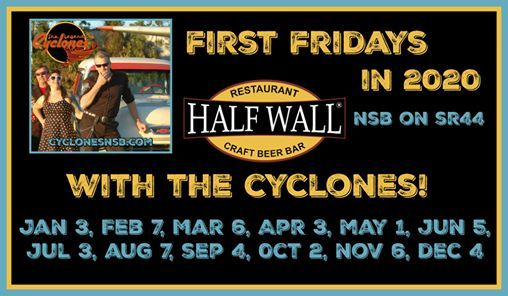 1st Fridays with The Cyclones At The Half Wall Brewery