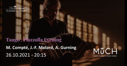 Tango - Piazzolla Evening, 26 October | Event in Waterloo | AllEvents.in