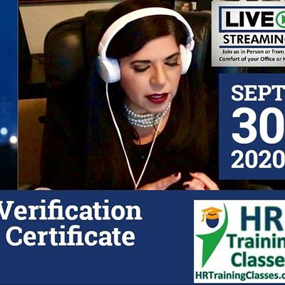 2020 Form I-9  Verification and Employment Certificate Program