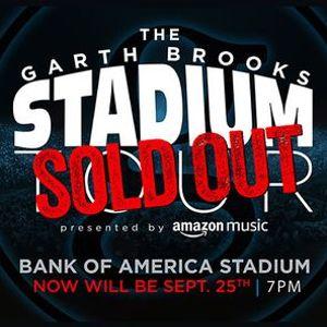 Charlotte NC - Garth Brooks Stadium Tour