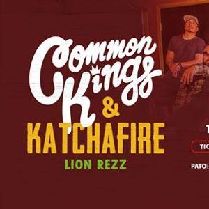 Common Kings Katchafire & Lion Rezz  Hamilton