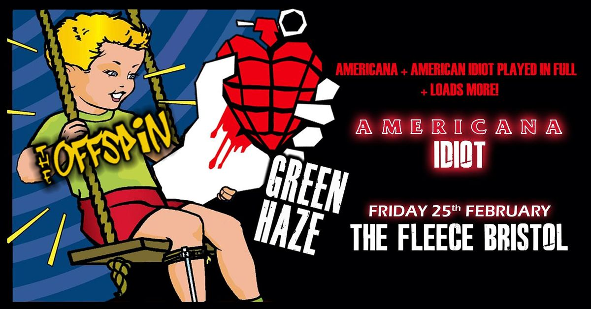 Green Haze - A Tribute To Green Day + The Offspin, 25 February   Event in Bristol   AllEvents.in