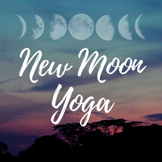 New Moon Beach Yoga Wednesday October 6th 6:45pm, 6 October   Event in Indialantic   AllEvents.in