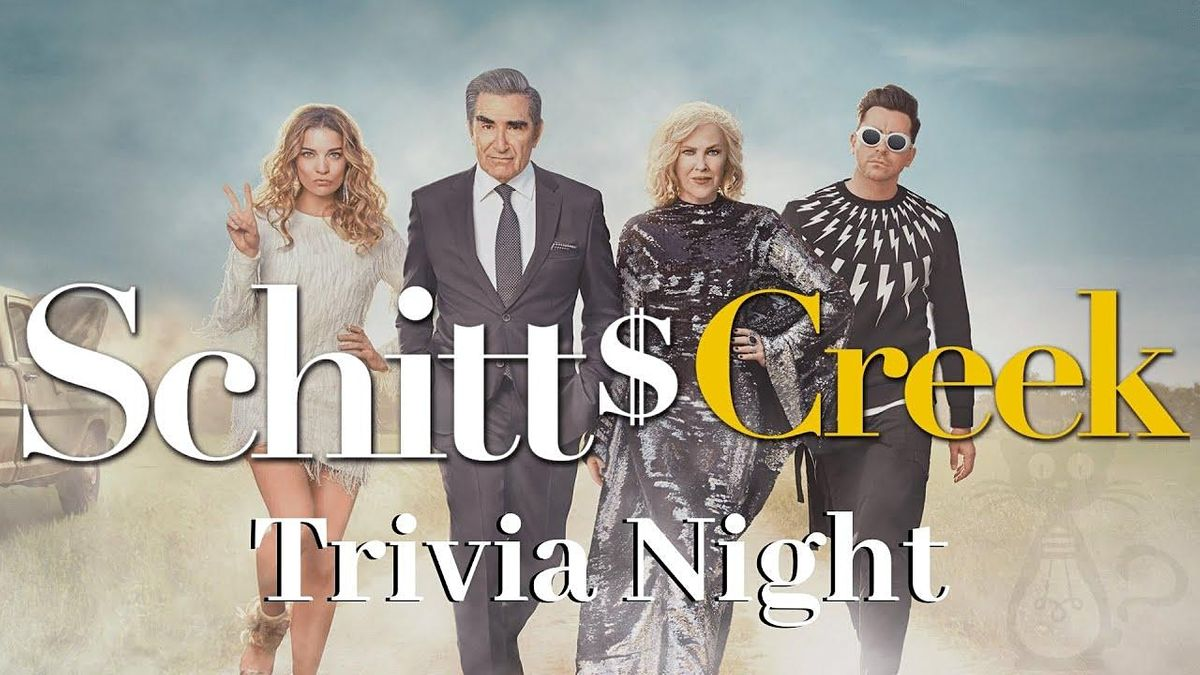 'Schitt's Creek' Trivia at Crosstown Brewing Company, 11 August   Event in Memphis   AllEvents.in