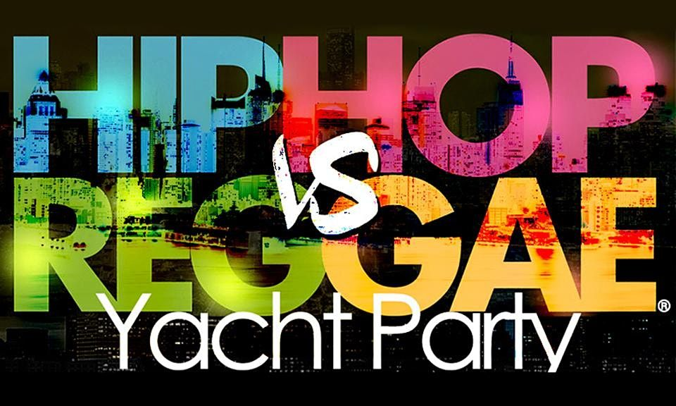 Summer Sunset NYC Hip Hop vs Reggae® Cruise Skyport Marina Cabana Yacht, 30 July | Event in New York | AllEvents.in