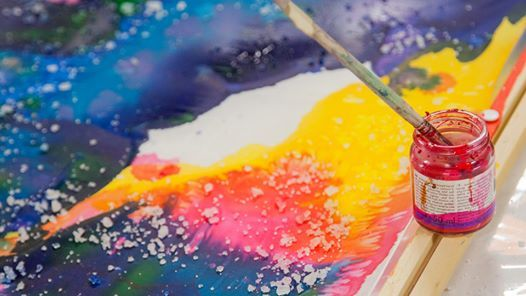 Luovasti Silkin maalaus