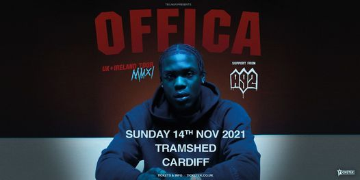 Offica   Tramshed, Cardiff, 14 November   Event in Cardiff   AllEvents.in