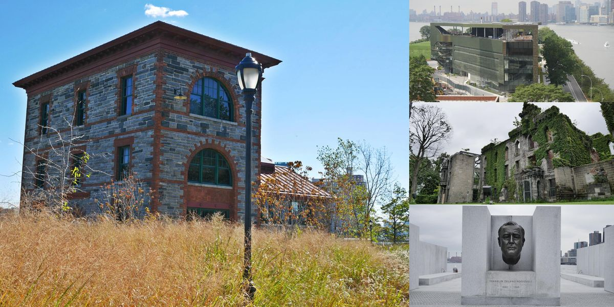 Exploring Roosevelt Island, From Abandoned Laboratories to Landmarked Ruins, 3 October   Event in New York