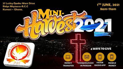ANNUAL MINI-HARVEST (FUN RAISER), 1 June | Event in Kumasi | AllEvents.in