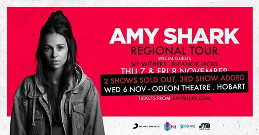 Amy Shark - Live in Hobart - SOLD OUT