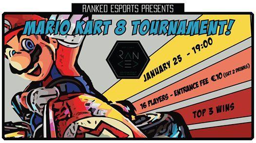 Mario Kart 8 Deluxe Weekly Tournament