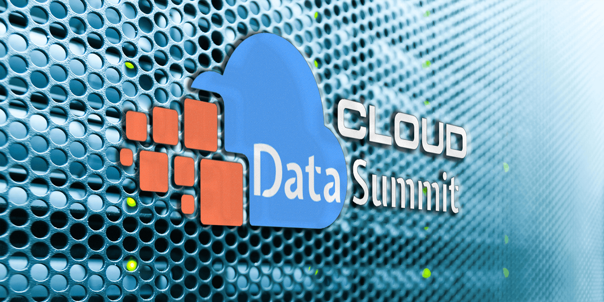 Washington Cloud Data Summit -  On the Cloud For the Cloud.