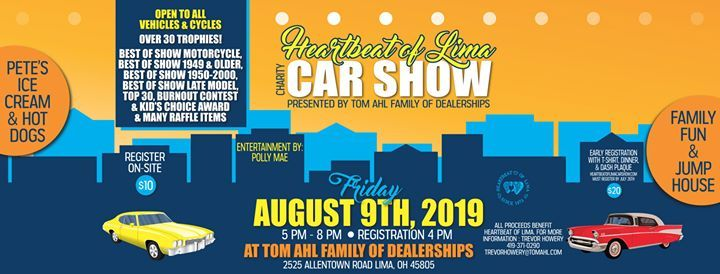 Tom Ahl Lima Ohio >> Heartbeat Of Lima Car Show At Tom Ahl Family Of Dealerships