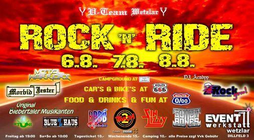 Rock N Ride Event Werkstatt Wetzlar August 6 To August 8 Allevents In