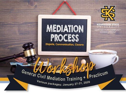 Workshop General Civil Mediation Training and Practicum