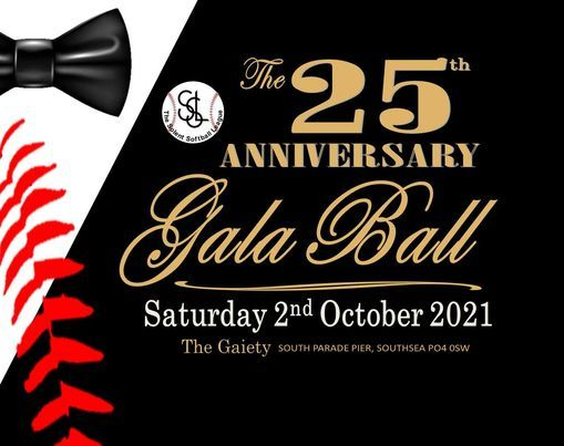 Solent Softball League's 25th Anniversary Gala Ball, 2 October | Event in Fareham | AllEvents.in