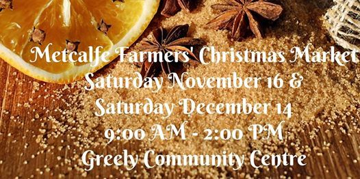 Metcalfe Farmers Christmas Market
