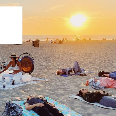 Sunset Sound Bath and Breathwork Meditation on the Beach