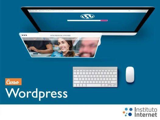 Curso De Wordpress Instituto Internet Caracas January 28 2021 Allevents In