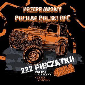 PRZEPRAWOWY PUCHAR POLSKI RFC - 222 PIECZTKI