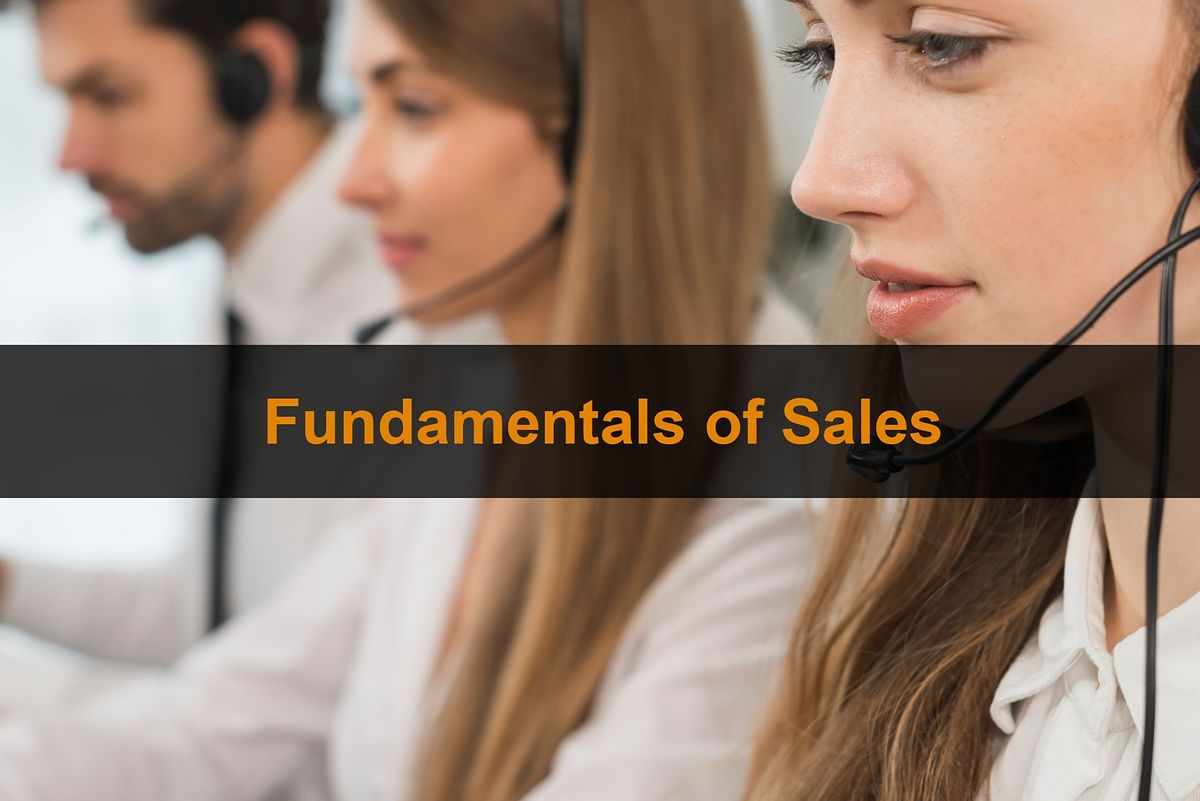 Sales Training London Fundamentals Of Sales