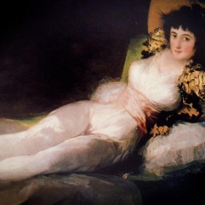 Adultos - Francisco Goya Online-Presencial dibujando con modelo