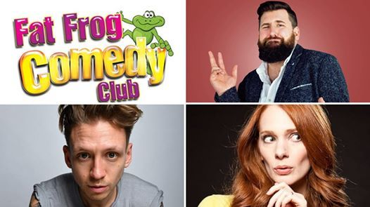 Fat Frog Comedy with Garrett Millerick & Alistair Williams