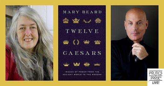 P&P Live! Mary Beard — Twelve Caesars - with Daniel Mendelsohn, 25 October   Online Event   AllEvents.in