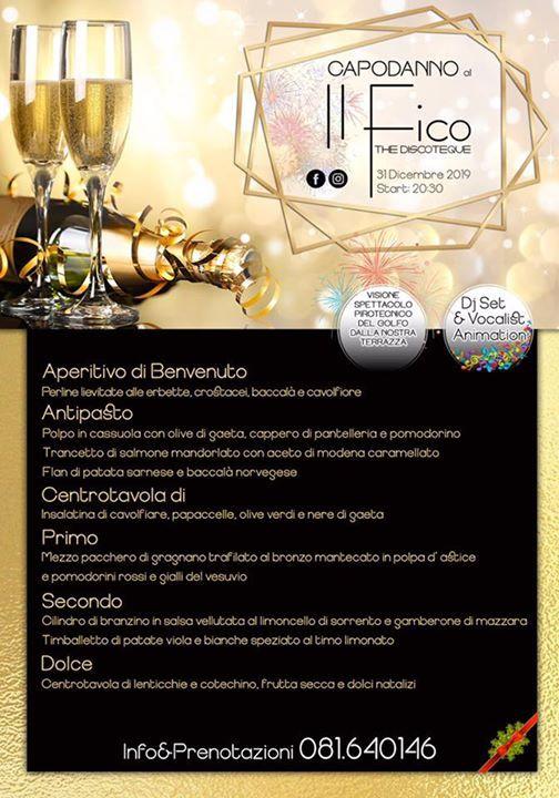 Cenone Di Fine Anno At Discoteca Il Fico Napoli