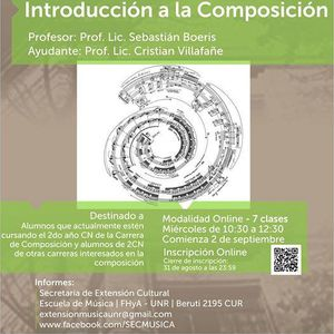Seminario De Introduccin a La Composicin