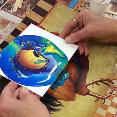 Beginning Flow Painting