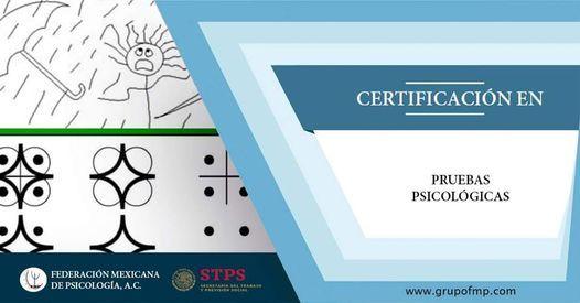 Pruebas Psicológicas - Certificación ONLINE, 14 May   Event in Cuernavaca   AllEvents.in