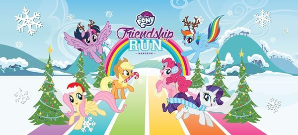 My Little Pony Friendship Run - Bangkok