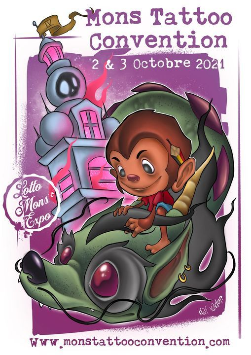 Mons Tattoo Convention 2021, 2 October   Event in Mons   AllEvents.in