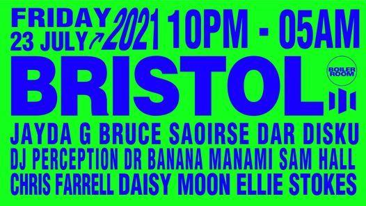 Boiler Room: Bristol [more tickets added], 23 July | Event in Bristol | AllEvents.in