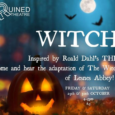 WITCHES in Lesnes Abbey- inspired by Roald Dahls The Witches